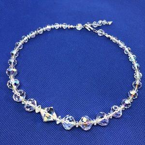 🆕Vintage Brilliant Aurora Crystal Necklace